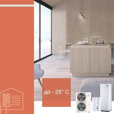 Тепловые насосы (воздух-вода)
