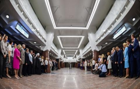 Станція ПЕРЕМОГА (Харківський метрополітен), 2016 рік.